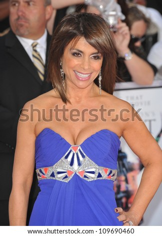 "LOS ANGELES, CA - OCTOBER 27, 2009: Paula Abdul at the premiere of Michael Jackson's ""This Is It"" at the Nokia Theatre, L.A. Live. - stock photo"