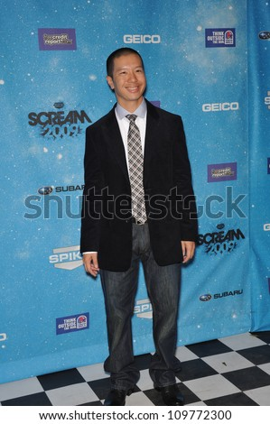 LOS ANGELES, CA - OCTOBER 17, 2009: Reggie Lee at the 2009 Spike TV Scream Awards, at the Greek Theatre, Los Angeles.