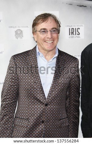LOS ANGELES, CA - SEP 25: Daniel Lamarre  at the IRIS, A Journey Through the World of Cinema by Cirque du Soleil premiere September 25, 2011 at Kodak Theater in Los Angeles, California - stock photo