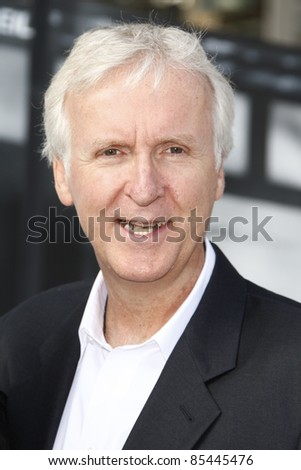 LOS ANGELES, CA - SEP 25: James Cameron at the IRIS, A Journey Through the World of Cinema by Cirque du Soleil premiere September 25, 2011 at Kodak Theater in Los Angeles, California - stock photo