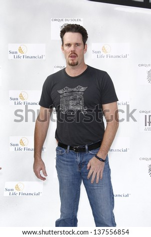 LOS ANGELES, CA - SEP 25: Kevin Dillon at the IRIS, A Journey Through the World of Cinema by Cirque du Soleil premiere September 25, 2011 at Kodak Theater in Los Angeles, California - stock photo