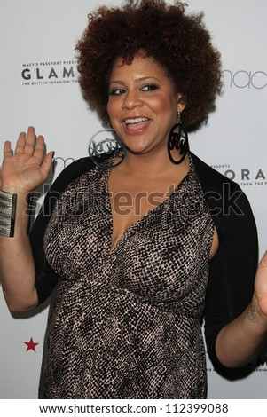 LOS ANGELES, CA - SEP 7: Kim Coles at Macy's Passport Presents: Glamorama - 30th Anniversary in Los Angeles held at The Orpheum Theater on September 7, 2012 in Los Angeles, California. - stock photo
