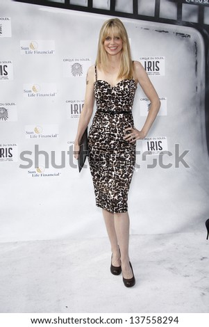 LOS ANGELES, CA - SEP 25: Kristin Bauer at the IRIS, A Journey Through the World of Cinema by Cirque du Soleil premiere September 25, 2011 at Kodak Theater in Los Angeles, California - stock photo