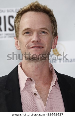 LOS ANGELES, CA - SEP 25: Neil Patrick Harris at the IRIS, A Journey Through the World of Cinema by Cirque du Soleil premiere September 25, 2011 at Kodak Theater in Los Angeles, California