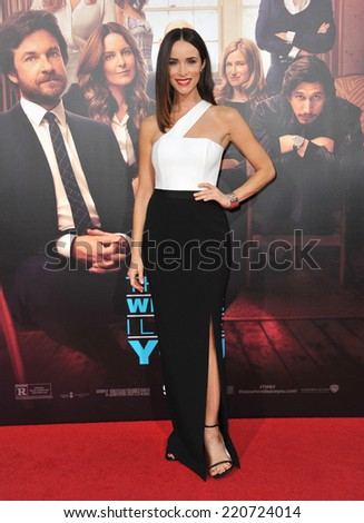 """LOS ANGELES, CA - SEPTEMBER 15, 2014: Abigail Spencer at the Los Angeles premiere of her movie """"This Is Where I Leave You"""" at the TCL Chinese Theatre, Hollywood.  - stock photo"""