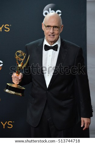 LOS ANGELES, CA. September 18, 2016: Actor Jeffrey Tambor at the 68th Primetime Emmy Awards at the Microsoft Theatre L.A. Live.