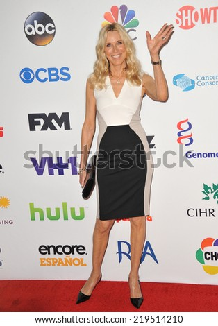 LOS ANGELES, CA - SEPTEMBER 5, 2014: Alana Stewart at the 2014 Stand Up To Cancer Gala at the Dolby Theatre, Hollywood.