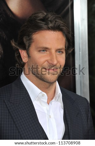 "LOS ANGELES, CA - SEPTEMBER 4, 2012: Bradley Cooper at the Los Angeles premiere of ""The Words"" at the Arclight Theatre, Hollywood."