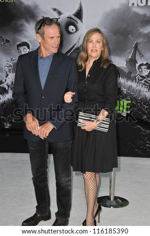 "LOS ANGELES, CA - SEPTEMBER 24, 2012: Catherine O'Hara at the premiere of her movie ""Frankenweenie"" at the El Capitan Theatre, Hollywood."