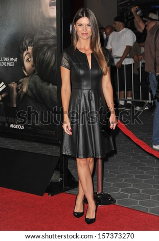 "LOS ANGELES, CA - SEPTEMBER 10, 2013: Danielle Vasinova at the world premiere of ""Insidious Chapter 2"" at Universal Citywalk, Hollywood."