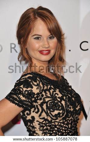 LOS ANGELES, CA - SEPTEMBER 23, 2011: Debby Ryan at the 9th Annual Teen Vogue Young Hollywood Party at Paramount Studios, Hollywood. September 23, 2011  Los Angeles, CA - stock photo