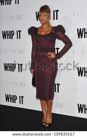 "LOS ANGELES, CA - SEPTEMBER 29, 2009: Eve at the Los Angeles premiere of her new movie ""Whip It"" at Grauman's Chinese Theatre, Hollywood."