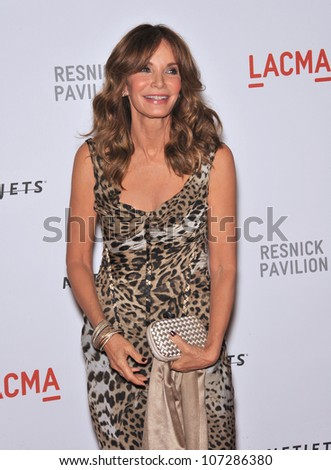 LOS ANGELES, CA - SEPTEMBER 25, 2010: Jacqueline Smith at a benefit gala at  LACMA for the opening of  The Lynda & Stewart Resnick Exhibition Pavilion in Los Angeles, CA.