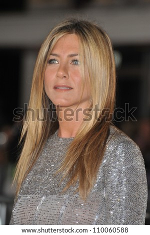 "LOS ANGELES, CA - SEPTEMBER 15, 2009: Jennifer Aniston at the world premiere of her new movie ""Love Happens"" at the mann Village Theatre, Westwood. - stock photo"