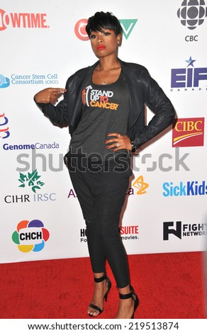 LOS ANGELES, CA - SEPTEMBER 5, 2014: Jennifer Hudson at the 2014 Stand Up To Cancer Gala at the Dolby Theatre, Hollywood.  - stock photo