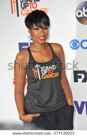 LOS ANGELES, CA - SEPTEMBER 5, 2014: Jennifer Hudson at the 2014 Stand Up To Cancer Gala at the Dolby Theatre, Hollywood.
