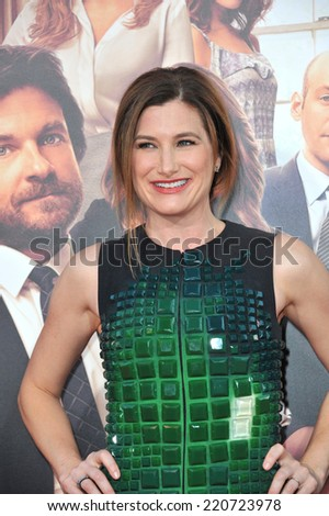 """LOS ANGELES, CA - SEPTEMBER 15, 2014: Kathryn Hahn at the Los Angeles premiere of her movie """"This Is Where I Leave You"""" at the TCL Chinese Theatre, Hollywood.  - stock photo"""