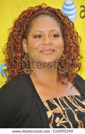 LOS ANGELES, CA - SEPTEMBER 8, 2009: Kim Coles at the Get Schooled Conference and premiere of TV documentary at Paramount Studios, Hollywood. - stock photo