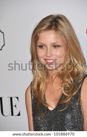 LOS ANGELES, CA - SEPTEMBER 23, 2011: Kristi Lauren at the 9th Annual Teen Vogue Young Hollywood Party at Paramount Studios, Hollywood. September 23, 2011  Los Angeles, CA - stock photo