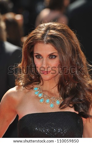 LOS ANGELES, CA - SEPTEMBER 12, 2009: Samantha Harris at the 2009 Creative Arts Emmy Awards at the Nokia Theatre L.A. Live.