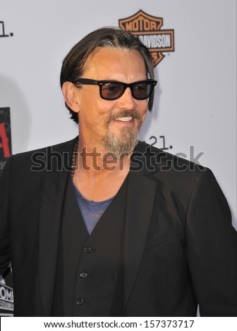 "LOS ANGELES, CA - SEPTEMBER 7, 2013: Tommy Flanagan at the season 6 premiere of ""Sons of Anarchy"" at the Dolby Theatre, Hollywood."
