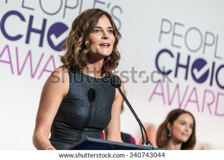 LOS ANGELES, CA/USA -  NOVEMBER  03  2015: Betsy Brandt attends the People's Choice Awards 2016 nominations press conference at The Paley Center for Media .