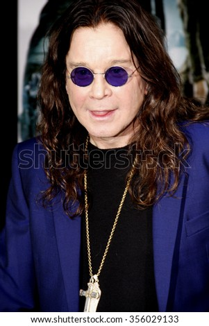 "LOS ANGELES, CALIFORNIA - August 1, 2012. Ozzy Osbourne at the Los Angeles premiere of ""Total Recall"" held at the Grauman's Chinese Theater, Los Angeles."