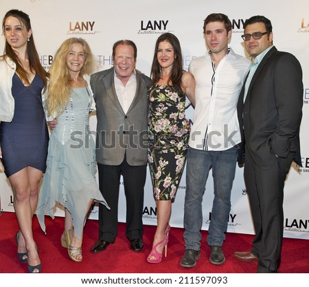 "LOS ANGELES/CALIFORNIA - AUGUST 4, 2014: Producers, Actresses & guest walk the red carpet at ""The Bay"" Red Carpet Extravaganza hosted by LANY Entertainment August 4, 2014 Hollywood, California USA"