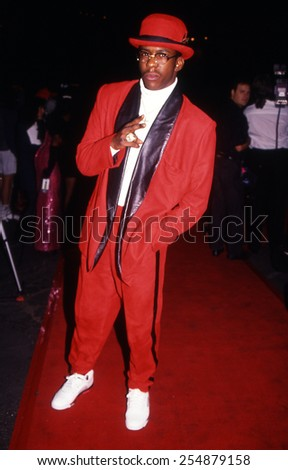Los Angeles, California - exact date unknown - circa 1990 - Bobby Brown arriving at a red carpet celebrity event - stock photo