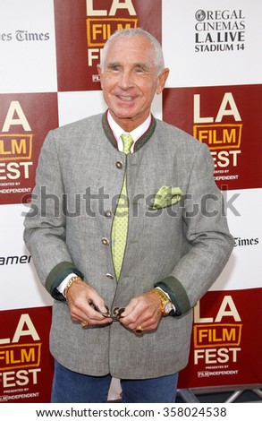 """LOS ANGELES, CALIFORNIA - June 14, 2012. Frederic Prinz von Anhalt at the 2012 Los Angeles Film Festival premiere of """"To Rome With Love"""" held at the Regal Cinemas L.A. LIVE Stadium 14, Los Angeles.  - stock photo"""