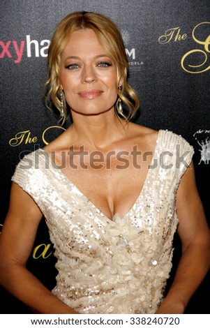 LOS ANGELES, CALIFORNIA - May 23, 2012. Jeri Ryan at the 37th Annual Gracie Awards Gala held at the Beverly Hilton Hotel, Los Angeles.   - stock photo