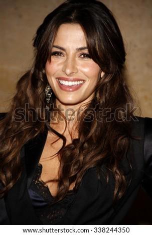 LOS ANGELES, CALIFORNIA - May 23, 2012. Sarah Shahi at the 37th Annual Gracie Awards Gala held at the Beverly Hilton Hotel, Los Angeles.   - stock photo