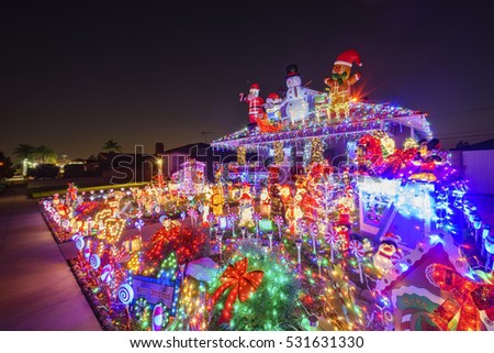 Macao casino blur light stock photo 262027505 shutterstock for American christmas decoration