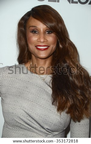 LOS ANGELES - DEC 18:  Beverly Johnson at the GENLUX Issue Release Party featuring Beverly Johnson at the The Rodeo Collection on December 18, 2015 in Beverly Hills, CA - stock photo