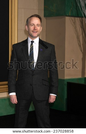 "LOS ANGELES - DEC 9:  Billy Boyd at the ""The Hobbit: The Battle of the Five Armies"" Los Angeles Premiere at the Dolby Theater on December 9, 2014 in Los Angeles, CA - stock photo"
