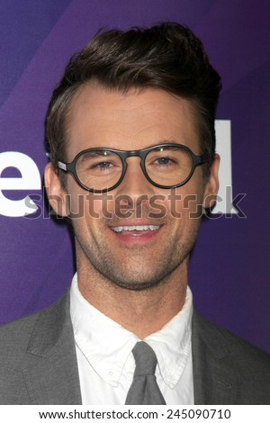 LOS ANGELES - DEC 15:  Brad Goreski at the NBCUniversal Cable TCA Press Tour at the Huntington Langham Hotel on December 15, 2014 in Pasadena, CA - stock photo