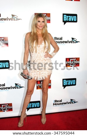 LOS ANGELES - DEC 3:  Brandi Glanville at theThe Real Housewives of Beverly Hills Premiere Red Carpet 2015 at the W Hotel Hollywood on December 3, 2015 in Los Angeles, CA - stock photo