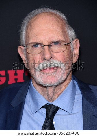 "LOS ANGELES - DEC 07:  Bruce Dern arrives to the ""The Hateful Eight"" Los Angeles Premiere  on December 07, 2015 in Hollywood, CA.                 - stock photo"