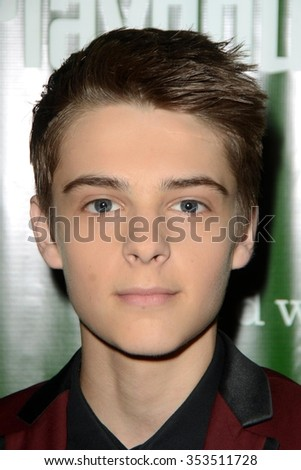 "LOS ANGELES - DEC 9:  Corey Fogelmanis at the ""Peter Pan And Tinker Bell - A Pirates Christmas"" Opening Night at the Pasadena Playhouse on December 9, 2015 in Pasadena, CA"