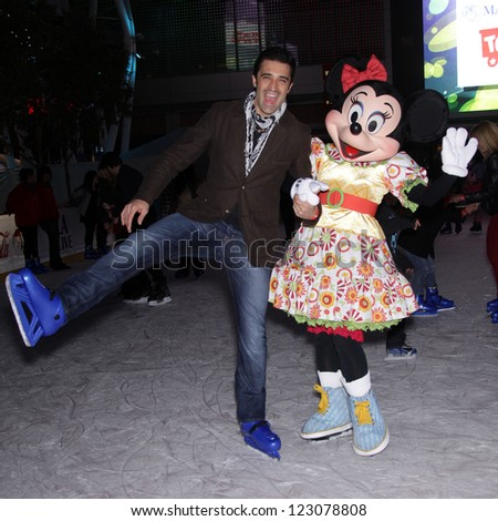LOS ANGELES - DEC 14:  GILLES MARINI arriving to Disney on Ice: Toy Story 3  on December 14, 2011 in Los Angeles, CA