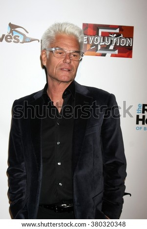 LOS ANGELES - DEC 3:  Harry Hamlin at The Real Housewives of Beverly Hills Premiere Red Carpet 2015 at the W Hotel Hollywood on December 3, 2015 in Los Angeles, CA - stock photo