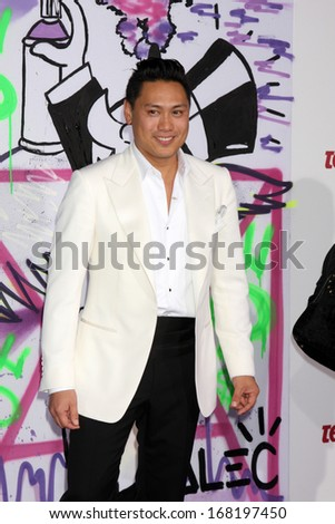 "LOS ANGELES - DEC 18:  Jon M. Chu at the ""Believe"" World Premiere at Regal 14 Theaters on Dec 18, 2013 in Los Angeles, CA"