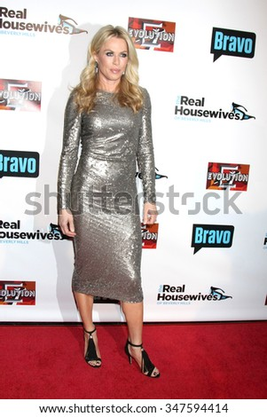 LOS ANGELES - DEC 3:  Kathryn Edwards at theThe Real Housewives of Beverly Hills Premiere Red Carpet 2015 at the W Hotel Hollywood on December 3, 2015 in Los Angeles, CA - stock photo
