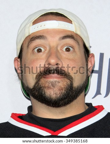 LOS ANGELES - DEC 4:  Kevin Smith at the he Shannara Chronicles at the iPic Theaters on December 4, 2015 in Los Angeles, CA - stock photo