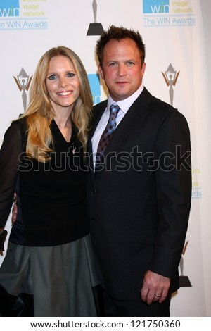 LOS ANGELES - DEC 12:  Lauralee Bell, Scott Martin arrive at the 14th Annual Women's Image Network Awards at Paramount Theater on December 12, 2012 in Los Angeles, CA