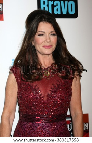 LOS ANGELES - DEC 3:  Lisa Vanderpump at the The Real Housewives of Beverly Hills Premiere Red Carpet 2015 at the W Hotel Hollywood on December 3, 2015 in Los Angeles, CA - stock photo
