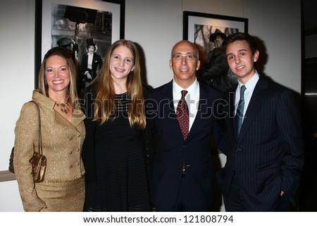 LOS ANGELES - DEC 12:  Maria Bell, daughter, son, Bill Bell, Jr. arrive at the 14th Annual Women's Image Network Awards at Paramount Theater on December 12, 2012 in Los Angeles, CA