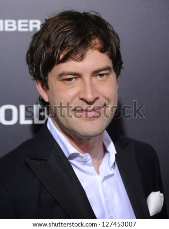 "LOS ANGELES - DEC 09:  Mark Duplass arrives to the ""Zero Dark Thirty"" LA Premiere  on December 09, 2012 in Hollywood, CA"