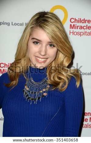 LOS ANGELES - DEC 12:  Paris Smith at the Childrens Miracle Network Winter Wonderland Ball, at the Avalon Hollywood on December 12, 2015 in Los Angeles, CA - stock photo