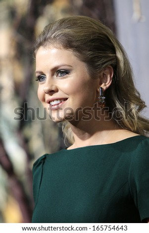 LOS ANGELES - DEC 2: Rose McIver at the premiere of Warner Bros' 'The Hobbit: The Desolation of Smaug' at the Dolby Theater on December 2, 2013 in Los Angeles, CA
